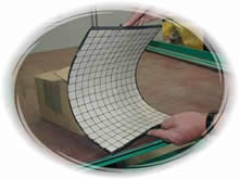 rubber backed ceramic mats